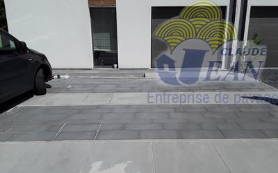 Entreprise Jean Claude - Réalisations en pavés beton